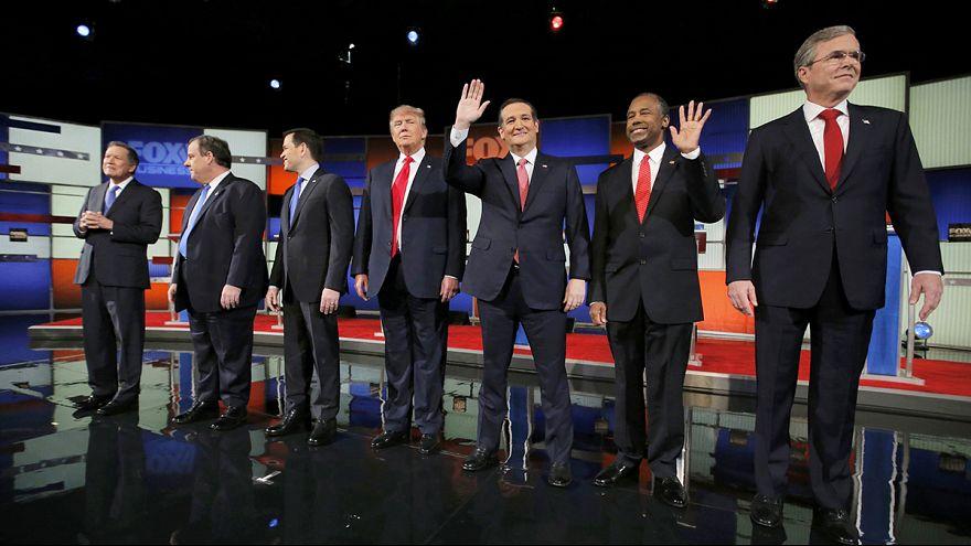 Trump és Cruz kóstolgatta egymást a republikánus vitán