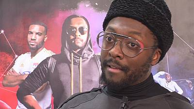 Will.i.am, appuntamento con Euronews