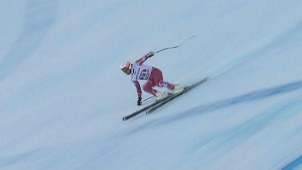 برتری اسکی بازان نروژی در رقابتهای جهانی سوپر ترکیبی