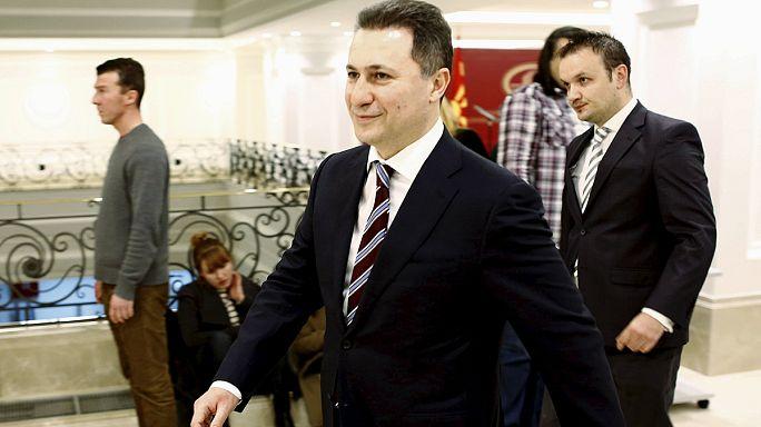Отставка главы правительства Македонии