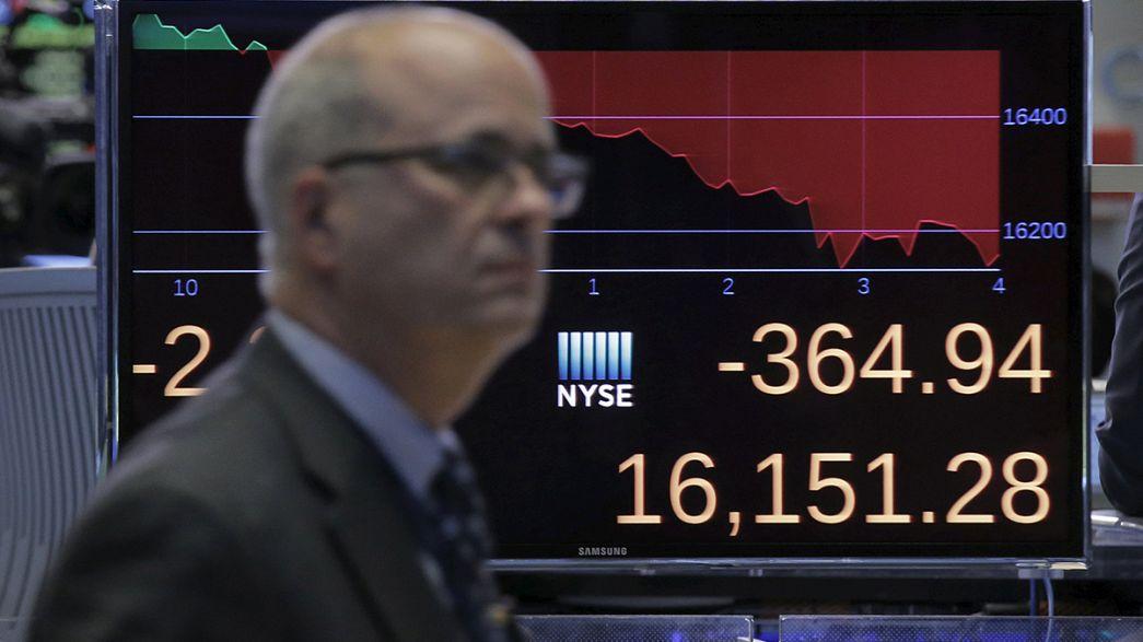 Wall Street termina semana com fortes quedas