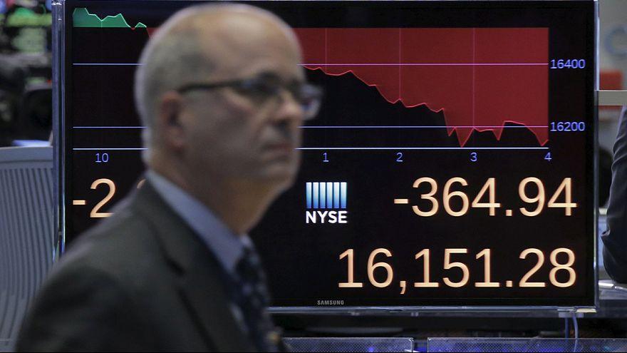 European and US stocks pummelled