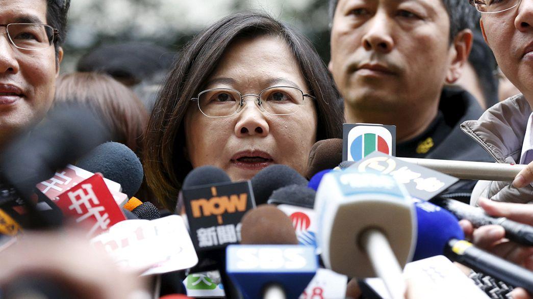 Elections à Taïwan : une femme pourrait devenir la nouvelle présidente de l'île