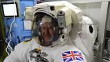La prima passeggiata spaziale di Tim Peake
