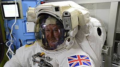 Astronaut Tim Peake becomes the first Briton to walk in space – nocomment