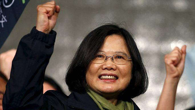 Çin ile yakınlaşmaya karşı olan muhalefet Tayvan seçimlerinden zaferle çıktı