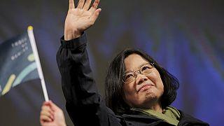 Taïwan : Tsai Ing-wen, première femme présidente de l'île