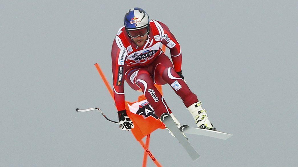 Sander bei Lauberhorn-Abfahrt wieder in Top 15 - Svindal gewinnt