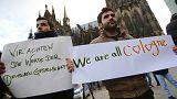 """""""No al sexismo, no al racismo"""", los incidentes de Colonia siguen marcando el debate en Alemania"""