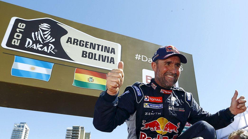 Franzose Peterhansel gewinnt Rallye Dakar zum zwölften Mal