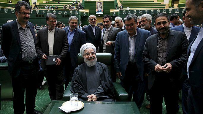 موغيريني وظريف يعلنان رفع العقوبات المرتبطة ببرنامج إيران النووي
