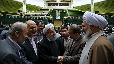 'Congrats on this glorious victory!' Iran's Rouhani hails lifting of sanctions