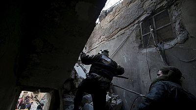 Des centaines de civils tués ce weekend en Syrie