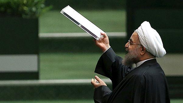 """Rohaní dice satisfecho que todos los que se mostraron escépticos sobre el acuerdo nuclear """"se equivocaron"""""""
