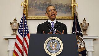 """Обама: последние события - """"исторический прогресс"""" в отношениях Вашингтона и Тегерана"""