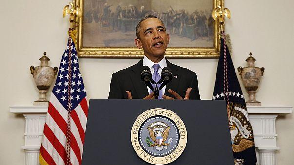 """Obama: """"Hoy es un buen día para la diplomacia estadounidense"""""""