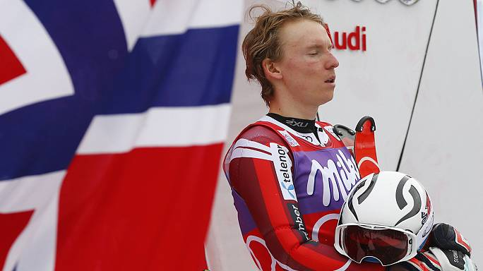 Kristoffersen joins Norway's World Cup party with slalom win