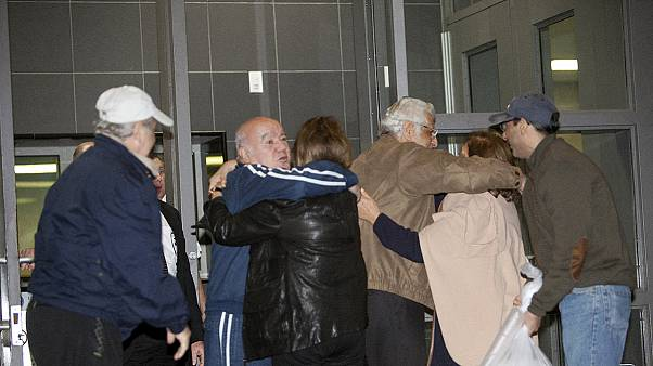 Prisioneiros dos EUA libertados pelo Irão chegaram à Alemanha
