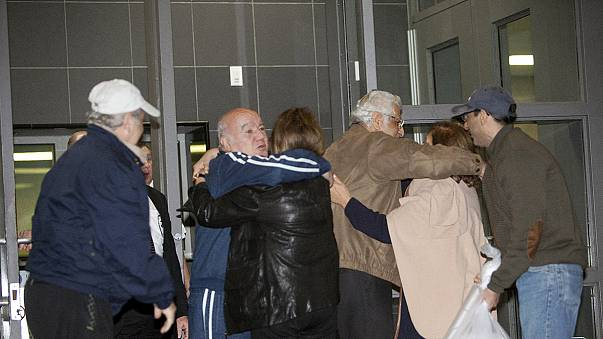 Iran-Austausch: Drei der freigelassenen Amerikaner über Genf nun in Deutschland