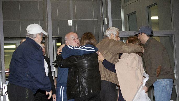 السجناء الأمريكيون المفرج عنهم في إيران يصلون إلى ألمانيا