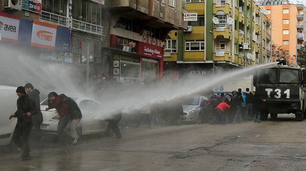 Scènes de guerre dans le sud-est de la Turquie