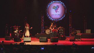 آلبوم مشترک دو خواننده زن مراکشی و اسپانیایی