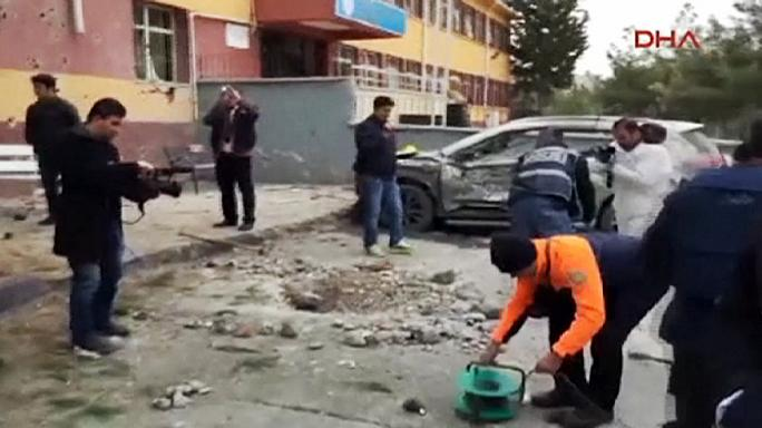 Выпущенный из Сирии снаряд разорвался во дворе школы в Турции