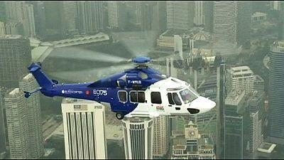 Airbus y Uber experimentan un servicio de transporte en helicóptero