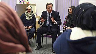 Cameron : apprendre l'anglais ou quitter le Royaume