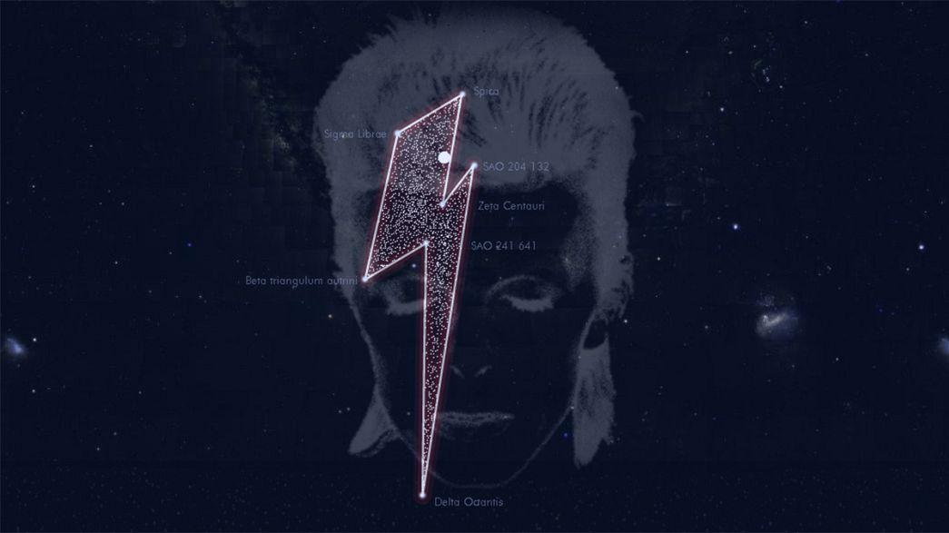 7 Sterne für den Spaceboy - Sternenkonstellation als kosmischer Gruß für David Bowie