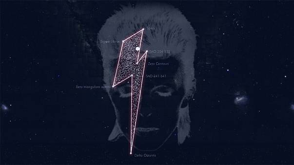 Bowie's seven star constellation a cosmic tribute to the spaceboy