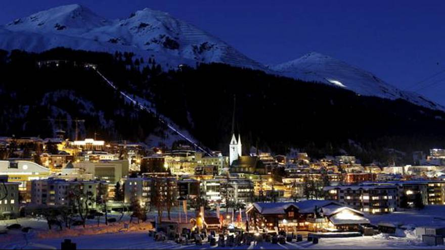 A world divided - Elites descend on Swiss Alps amid rising inequality