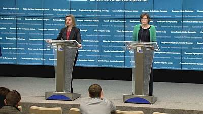 EU ruft Kriegsparteien in Syrien zur gemeinsamen Suche nach einer Lösung auf