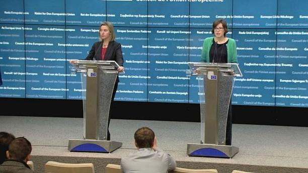 Главы МИД ЕС поддерживают переговоры по Сирии