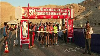 Luxor marathon takes off in Egypt
