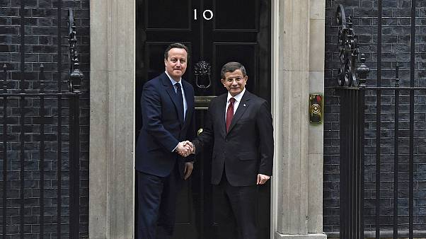 Turkish and British PMs hold bilateral talks in London