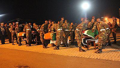 Les corps des soldats kényans tués en Somalie rapatriés