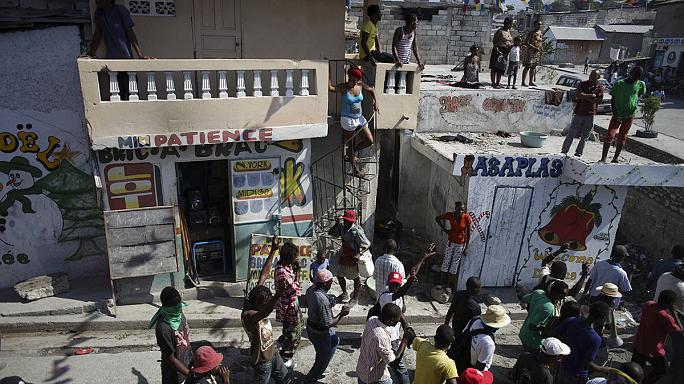 Election violence in blighted Haiti as opposition cries fraud