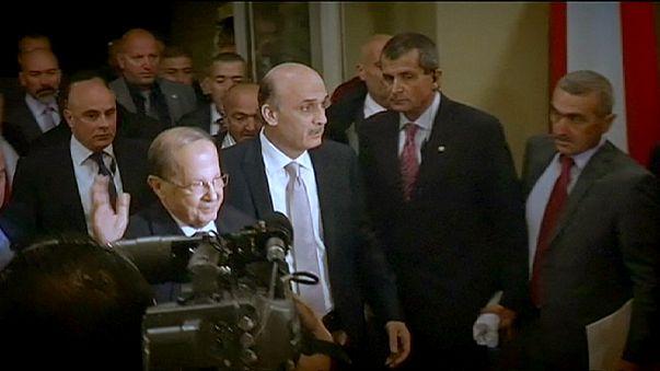 Ливан: Джааджаа поддержал кандидатуру Ауна на пост президента