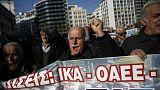Atene: protesta dei pensionati