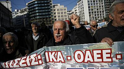 Greece faces first 2016 protests against reforms