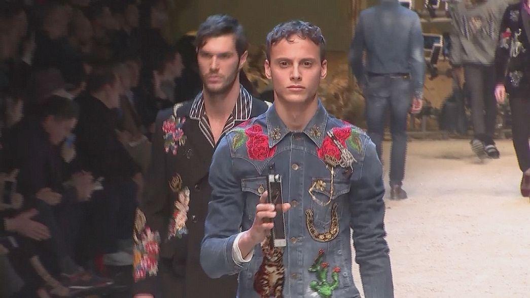 Milano Erkek Giyim Moda Haftası'na damga vuranlar