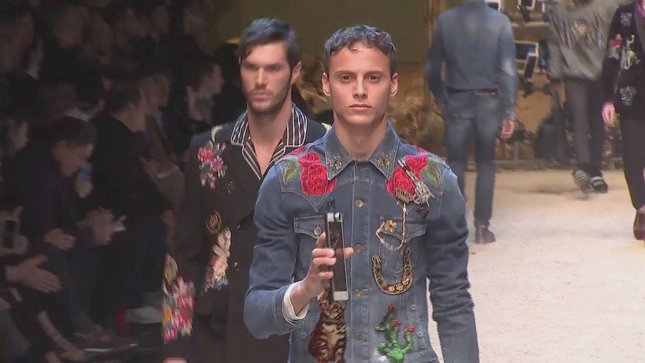 Sicily meets Wild West at Milan Fashion Week