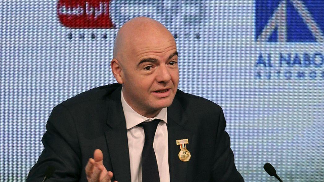 Infantino reveals FIFA presidential manifesto