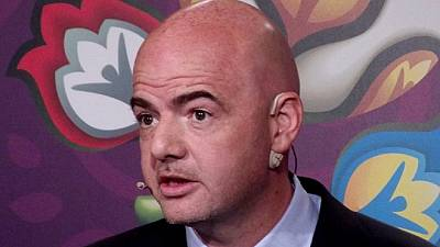 Infantino pushes for World Cup to be held in several countries