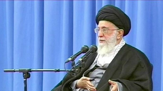 Iran's supreme leader warns against US 'deceit and treachery'