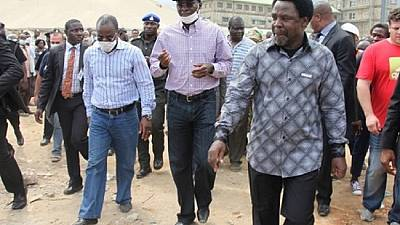 Court adjourns criminal negligence case against pastor T.B. Joshua