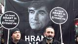 Hundreds pay tribute to slain Turkish-Armenian journalist Hrant Dink