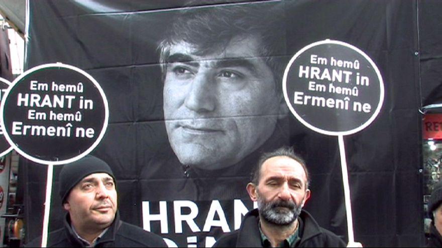 Турция: в Стамбуле почтили память убитого журналиста Гранта Динка