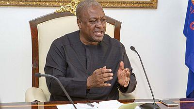 Ghana's president reshuffles ministers